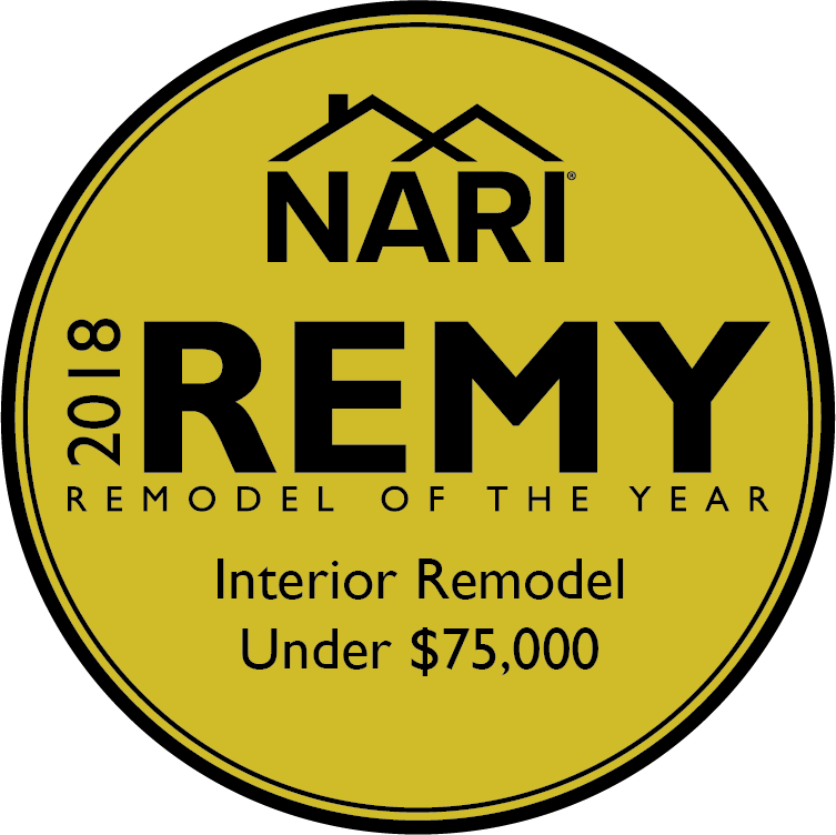 2018 Gold Medal, Interior Remodel, Under $75k